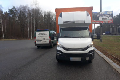 7550 kg ważyło przeładowane Iveco Daily – 700 zł mandatu