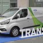 Hybrydowy Ford Transit Custom 1.0 EcoBoost na testach w Kolonii