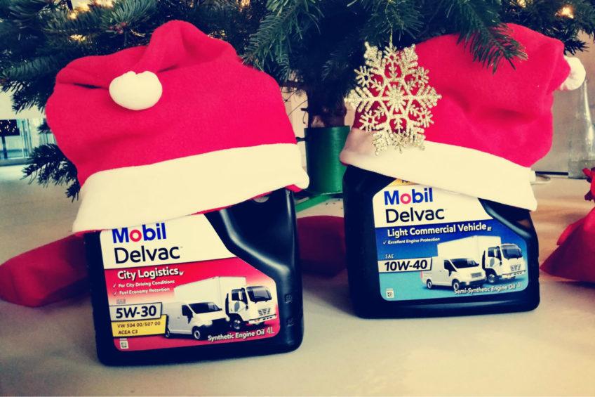 KONKURS ŚWIĄTECZNY – wygraj oleje Mobil Delvac do VAN-ów!