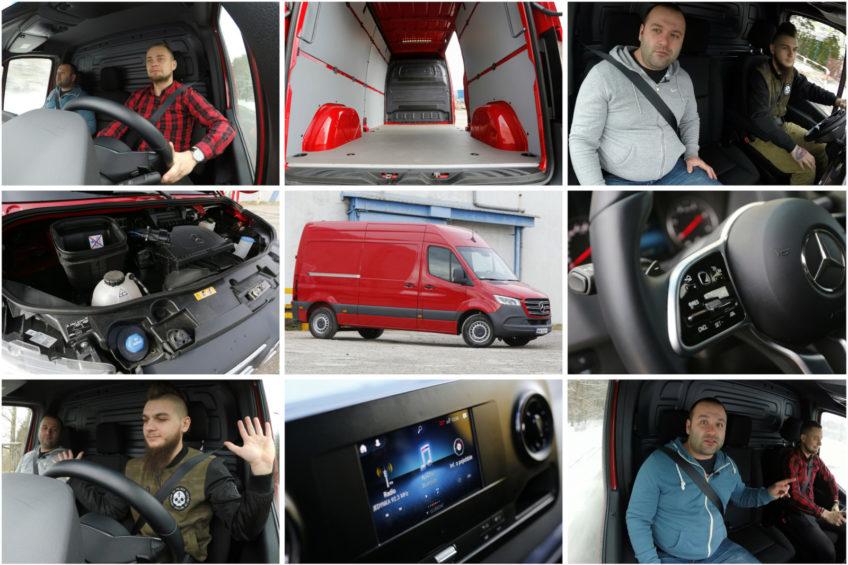 Przetestuj nowego Mercedesa Sprintera z dostawczakiem.pl