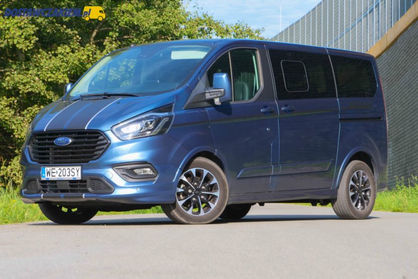Test: Ford Tourneo Custom 2.0 EcoBlue – sportowy bus (wideo, zdjęcia)