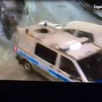Golfem w policyjnego Transportera – kierowca osobówki pijany (FILM)