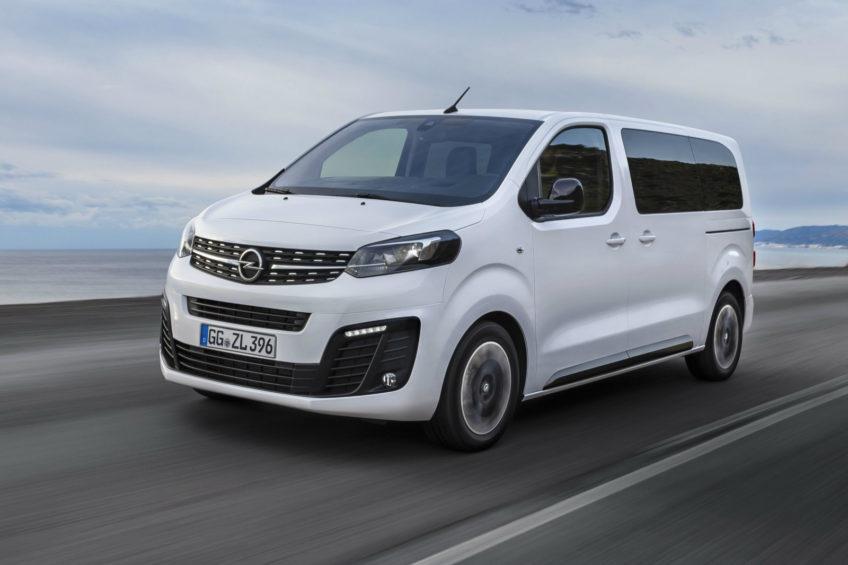 Opel Zafira Life – nowy minibus następcą Vivaro Kombi