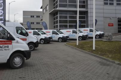 Elektryczne dostawczaki we flocie Poczty Polskiej od 2019 roku