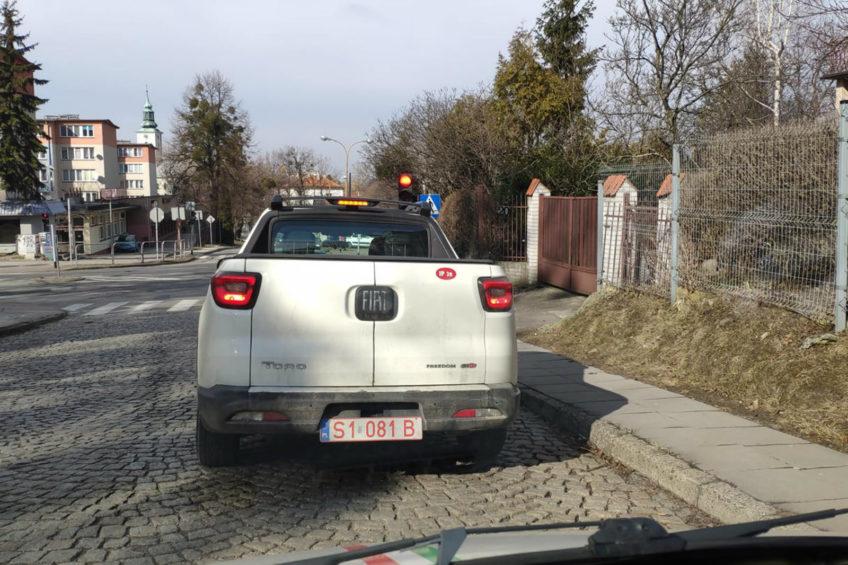 Fiat Toro na ulicach Bielska-Białej – to pick-up z Ameryki Łacińskiej