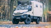 Iveco Daily 4×4 w roli kampera na podróż dookoła świata