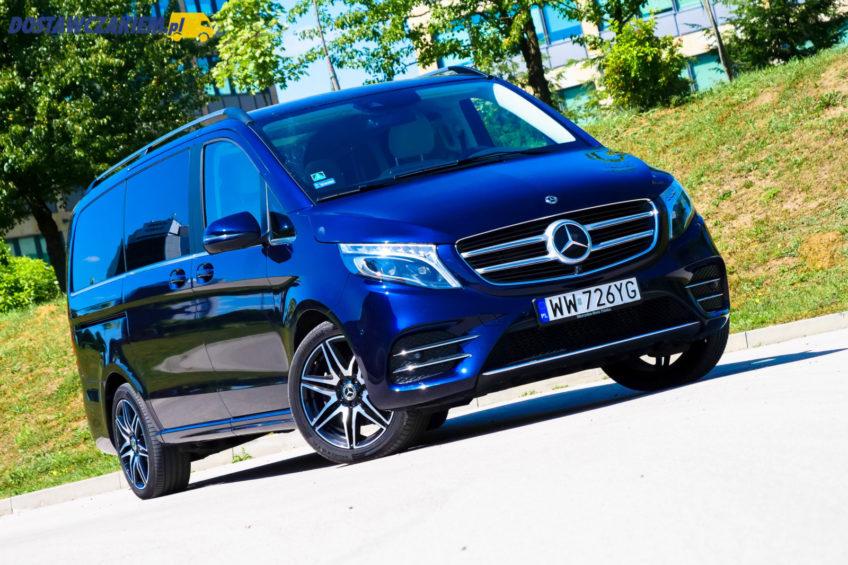 Test: Mercedes-Benz V250d – klasa sama w sobie (wideo, zdjęcia)
