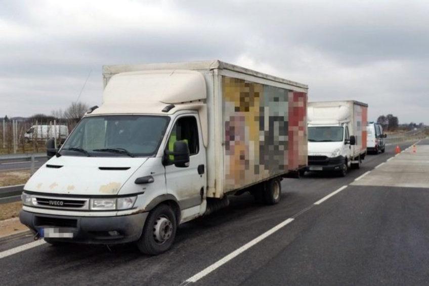 10 400 kg ważyło Iveco Daily zatrzymane na S7 koło Grójca