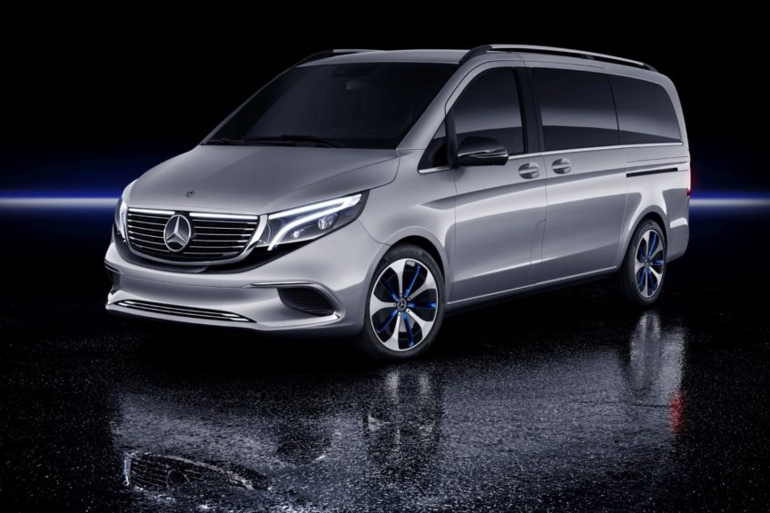 Mercedes-Benz EQV – elektryczna V-klasa o zasięgu 400 kilometrów