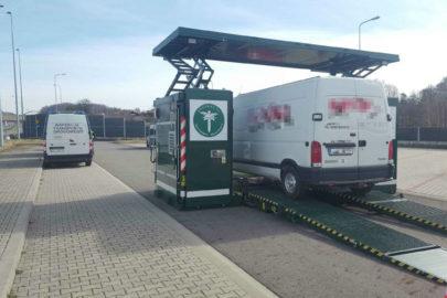 Mobilna stacja ITD na A1 – połowa dostawczaków straciła dowód