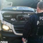Pościg za skradzionym Sprinterem – tablice i paliwo też kradzione