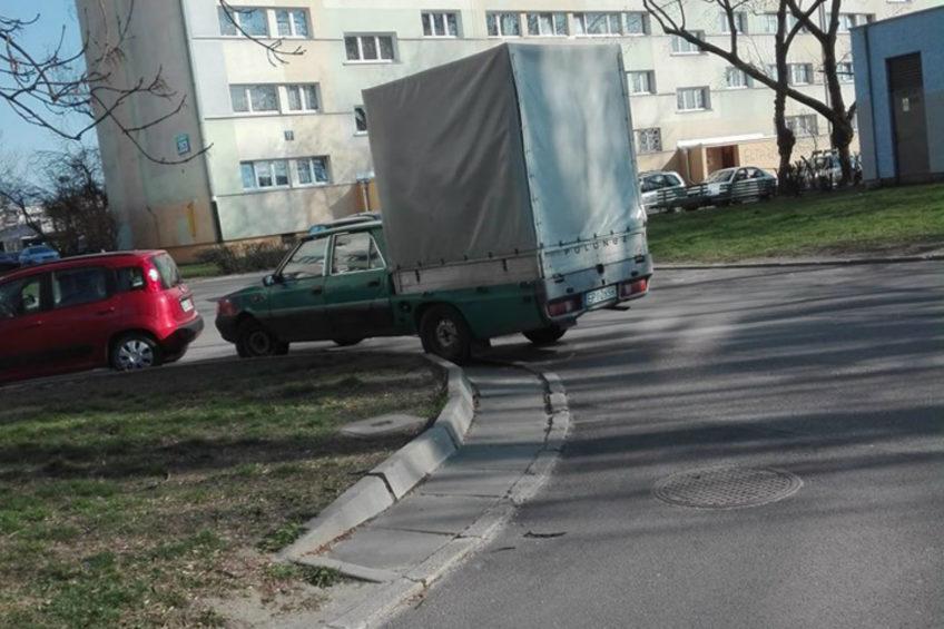 Polonez Truck Roy z bardzo wysoką plandeką – zdjęcie od Dominika