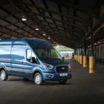 Ford Transit 2019 z ładownością większą o 80 kilogramów