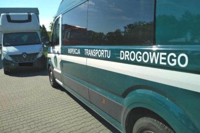 Kierowca Masterki poszukiwany listem gończym – wpadł na wadze ITD