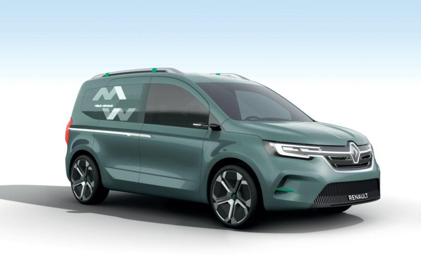 Renault Kangoo III generacji na rynku od 2020 roku. Także w wersji Z.E.