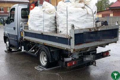 Renault Mascott z HDS-em i kilka big bagów – ponad 7 ton na wadze