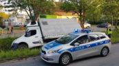 W Kołobrzegu kierowca Masterki wjechał do rowu. Miał 2 promile