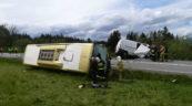 W wypadku na zakopiance zginął kierowca Fiata Ducato