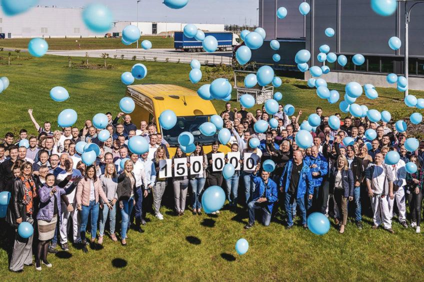 W zakładach VW we Wrześni wyprodukowano już 150 000 pojazdów