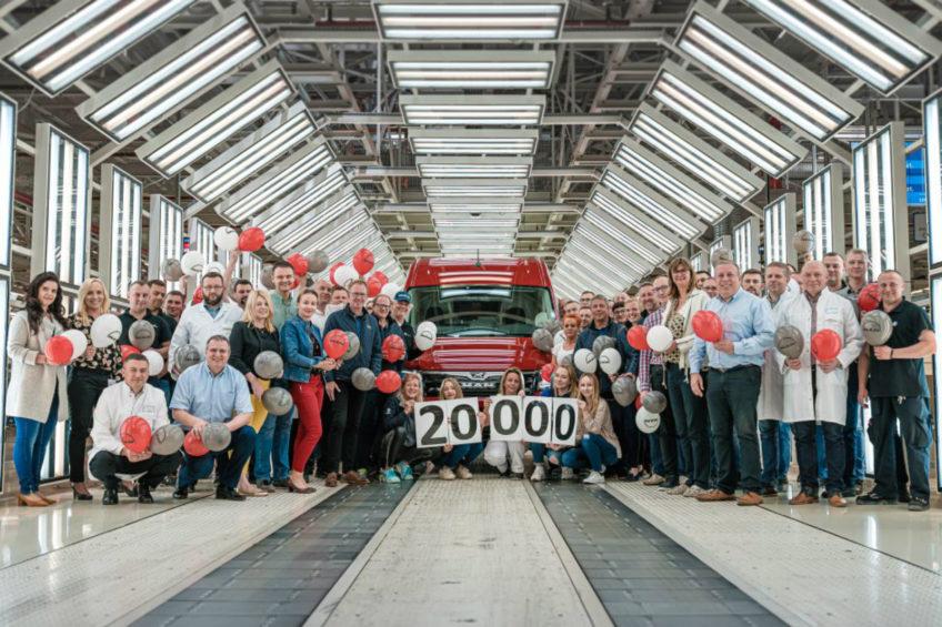 We Wrześni wyprodukowano już 20 000 sztuk MAN-a TGE