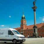 Elektryczny Volkswagen e-Crafter na testach w InPost
