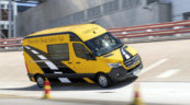 Mercedes Sprinter i aktywne systemy bezpieczeństwa (zdjęcia, wideo)