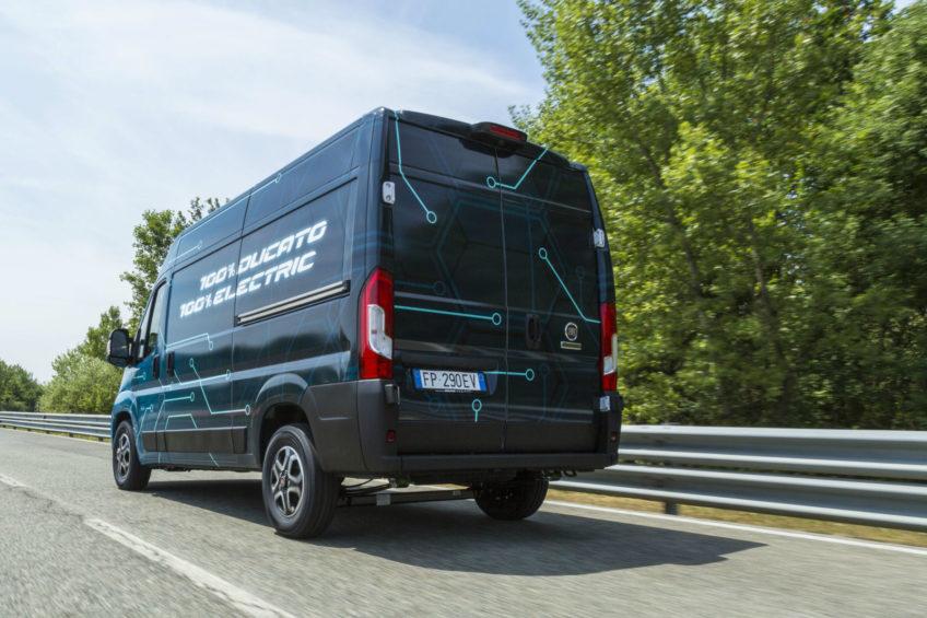 Fiat Ducato Electric – ma moc 123 KM i od 220 do 360 km zasięgu
