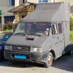 Iveco Daily jako ciągnik siodłowy na zdjęciach od Łukasza
