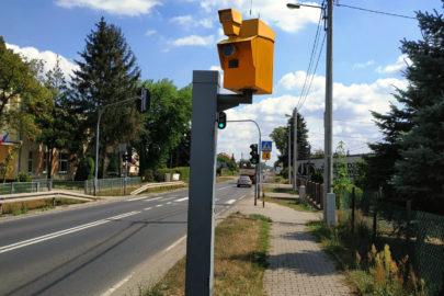 Nowy fotoradar na DK 71 w miejscowości Wola Zaradzyńska