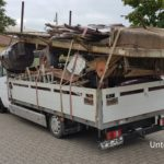 Polski Mercedes Sprinter zatrzymany w Niemczech ważył 6650 kg