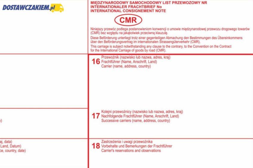 e-CMR dla polskich przewoźników już od 11 września 2019 roku