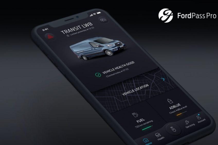 Aplikacją FordPass Pro zamkniesz lub odpalisz swojego Forda