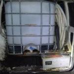 Fiat Doblo przygotowany do kradzieży paliwa wpadł w Rzgowie