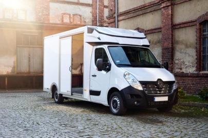 Kontener CityBox na platformie Renault Master od Pony Auto-Polska