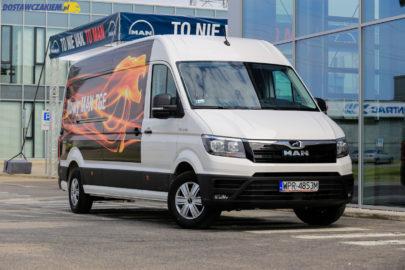 MAN TGE dla ITD – 64 specjalistyczne furgony za 28 mln zł