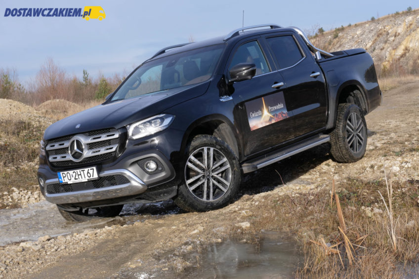 Test: Mercedes-Benz X350d 4MATIC – ciężki typ (wideo, zdjęcia)