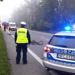 Na DK 10 Fiat Ducato śmiertelnie potrącił pieszego. Kierowca był pijany