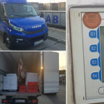 Przeładowane Iveco Daily zatrzymane na A10 – 750 euro depozytu
