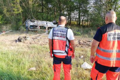 Wypadek minibusa na A4 – 5 osób nie żyje a 2 są ciężko ranne
