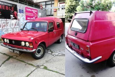 FSO 125p pick-up z 1991 roku sprzedany za 34 200 złotych
