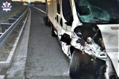 Na S12 Peugeot Boxer śmiertelnie potrącił kierowcę Audi A3
