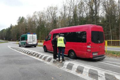 Przewóz osób przeciążonym Sprinterem zakończony na Podlasiu
