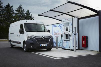 Wodorowe Renault Master od 2020 roku – zasięg do 350 kilometrów