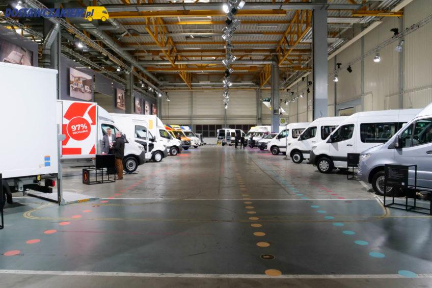 Zabudowy na Mercedesie Sprinterze – pomysłowe i lekkie rozwiązania