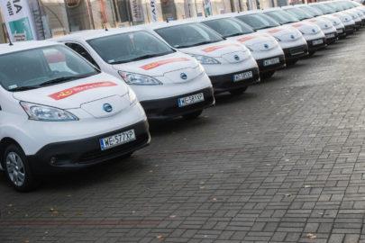 Elektryczne Nissany e-NV200 przekazane Poczcie Polskiej