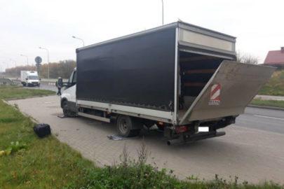 Na widok patrolu ITD zaczął cofać – jego Iveco Daily ważyło 8200 kg
