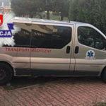 Woził ludzi minibusem na dializy – złamał sądowy zakaz