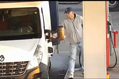Zatankował 500 litrów do Masterki i odjechał. Policja szuka złodzieja