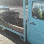 Autolawetą przewoził węgiel – mandat i zabrany dowód rejestracyjny