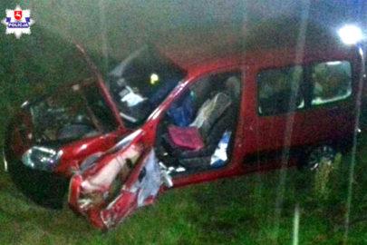 Na S17 zginął kierowca Berlingo potrącony przez ciężarówkę